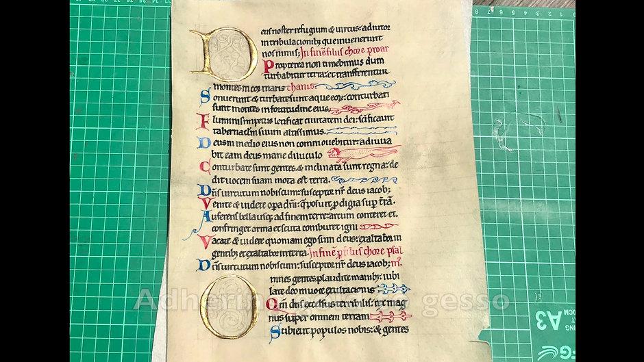 One minute manuscript illumination