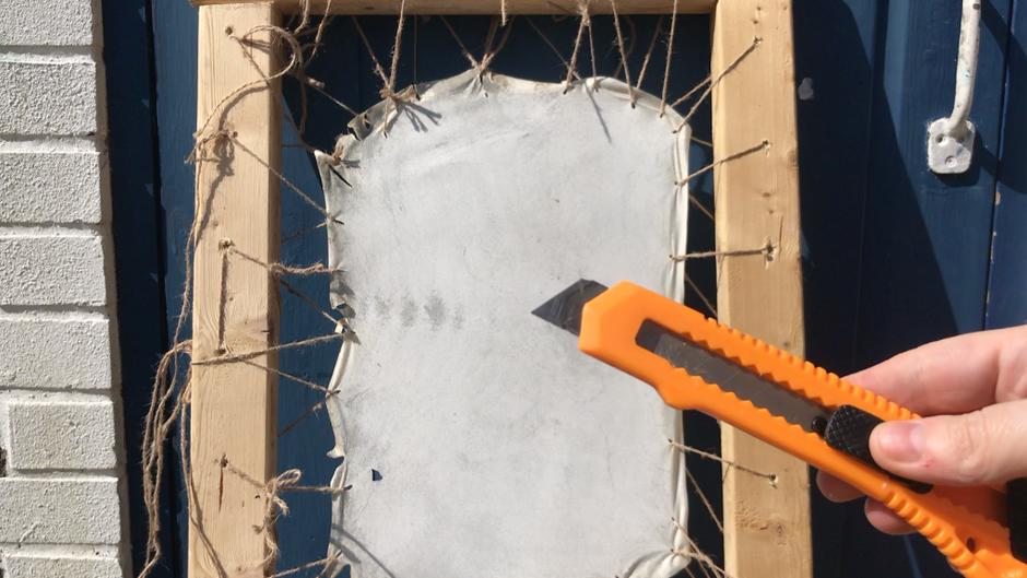 Making Parchment - part five