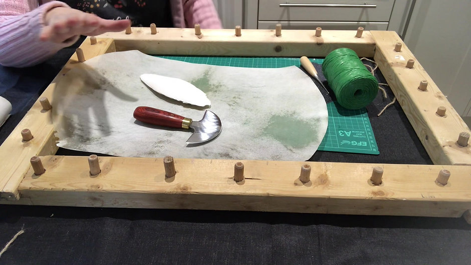 Making Parchment - part one