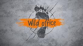 Анімація логотипу Дикий Офіс / Wild office