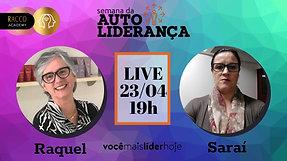 Live com Raquel e Saraí - Ao vivo