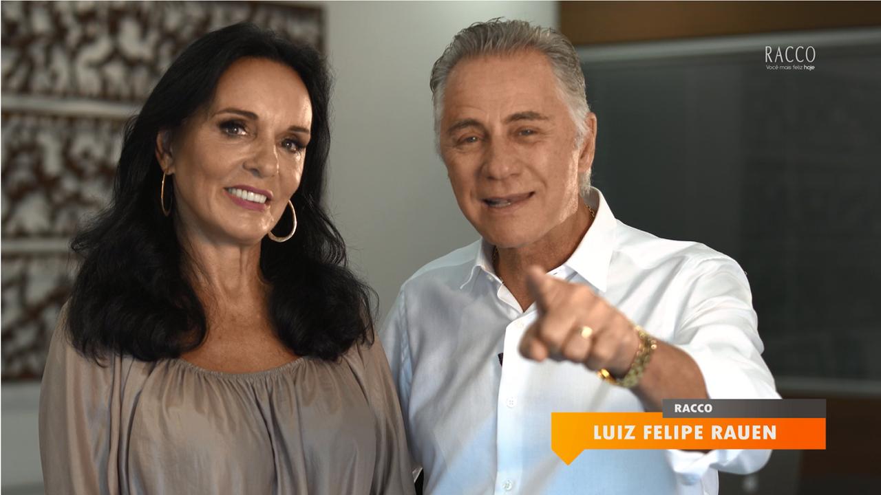 Mensagem da Presidência - Gisela e Felipe Rauen