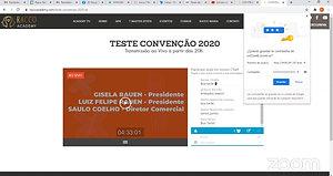 TESTE TRASMISSÃO ZOOM BO