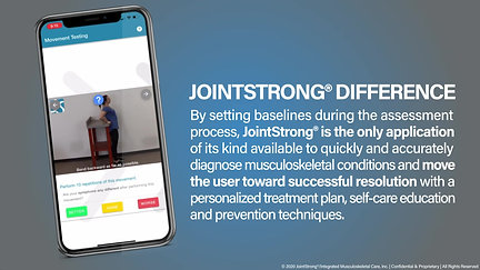 JointStrong Services Video Preview