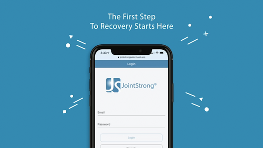 JointStrong® Self-Care App