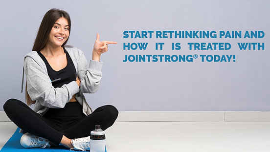 Rethink Pain and Care with JointStrong
