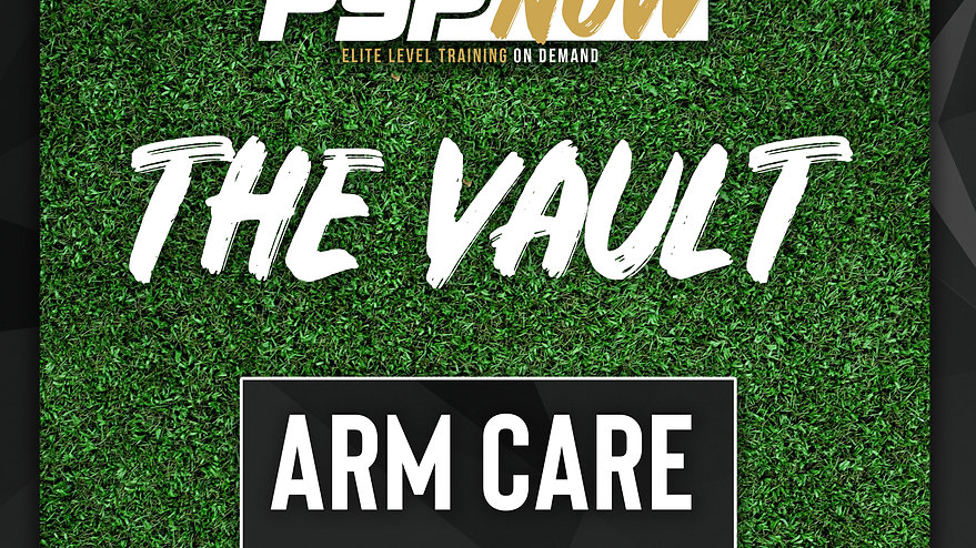 The Vault- Arm Care