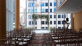 Pre-wedding setup