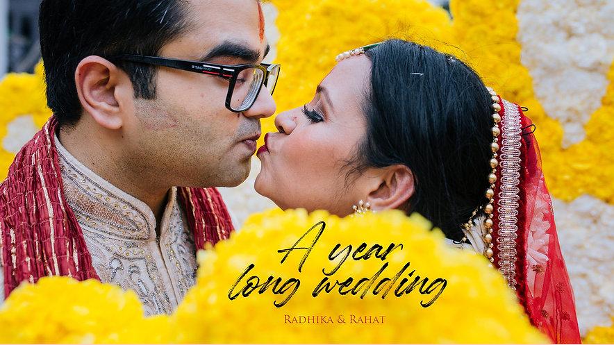 A year long wedding