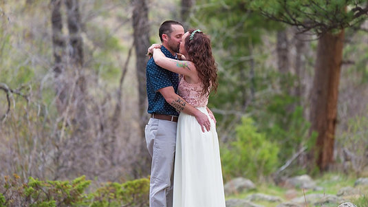 Tyler + Taylar // Colorado Canyon Ceremony