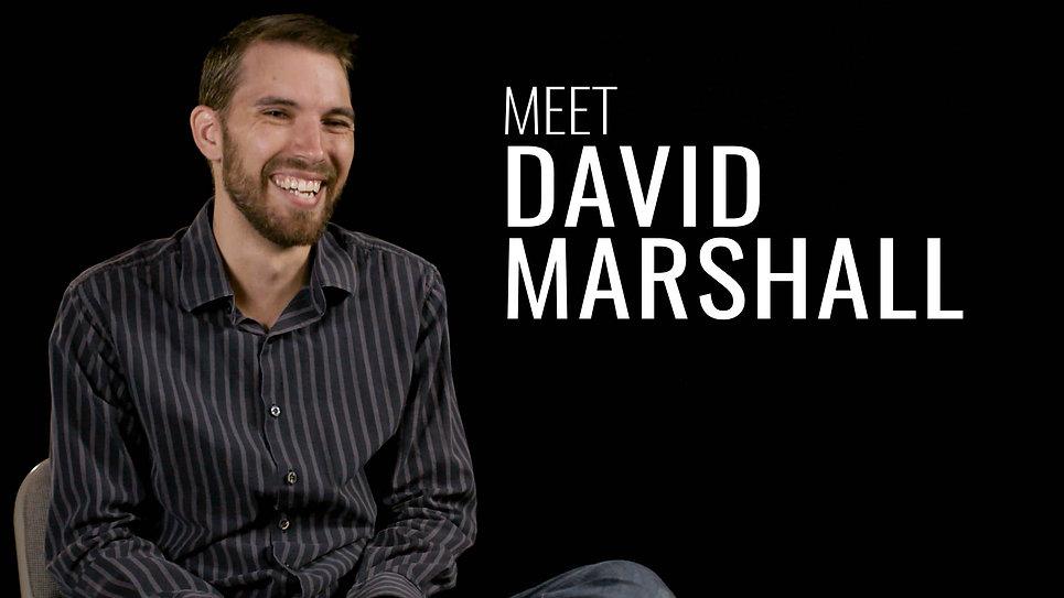 MEET DAVID MARSHALL
