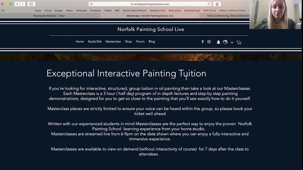 How to join a masterclass NPS LIVE