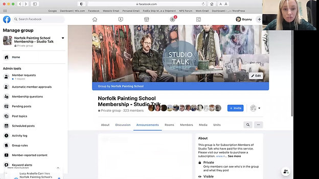 How to use Studio Talk on Facebook