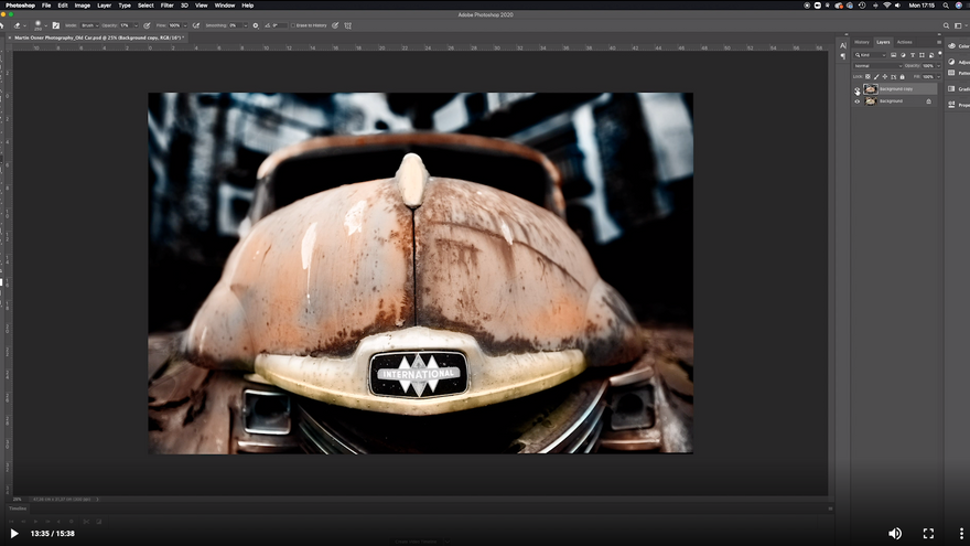 Hand-Painted Photography Effect with Photoshop
