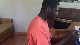 """TLM Student Brandon  plays """"Give Thanks"""""""