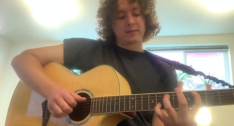 "TML Guitarist Dalton Rouse gives his rendition of ""Blackbird"""