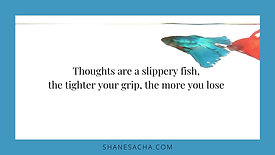 Thoughts are a slippery fish