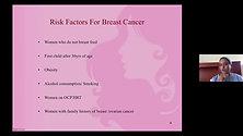 Breast Health:  Talk By Dr. Jayanti Thumsi