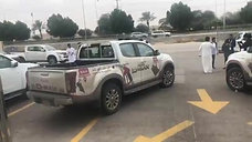 During arrival vehicles to Bahrain 2
