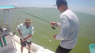 Bay Fishing- Port Aransas, TX 8-15-18