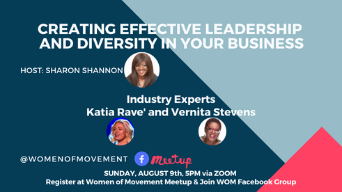 Women of Movement (WOM) with Katia Rave' and Vernita Stevens