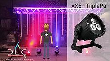 Astera LED wireless lighting
