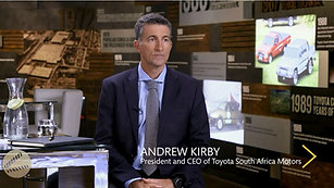 Andrew Kirby - Toyota South Africa Motors CEO