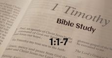 1 Timothy 1:1-7