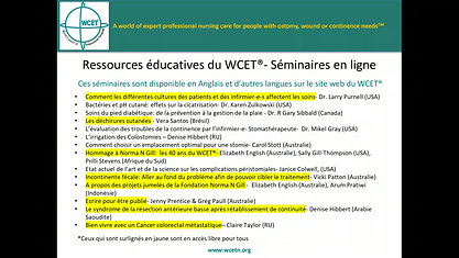 About the WCET - French Version