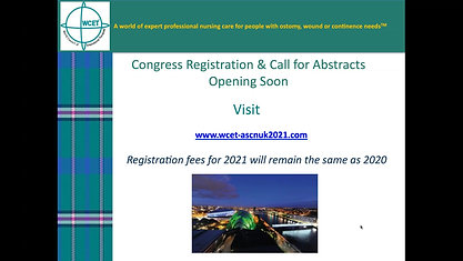 WCET 2021 Biennial Congress