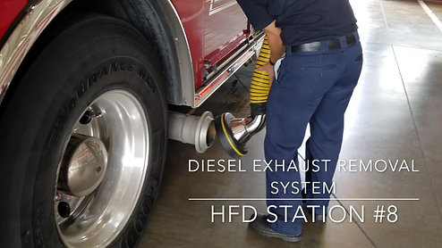 Diesel Exhaust Removal System
