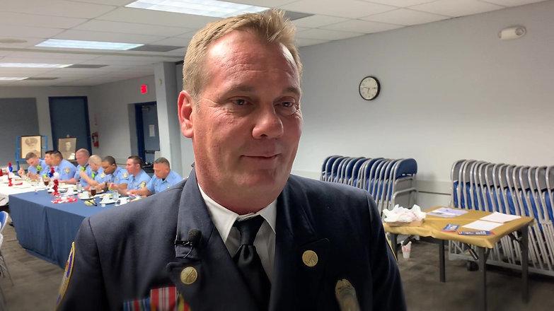 Chief Maurice Davis Honored