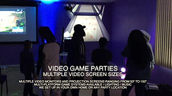 VIDEO GAME PARTIES