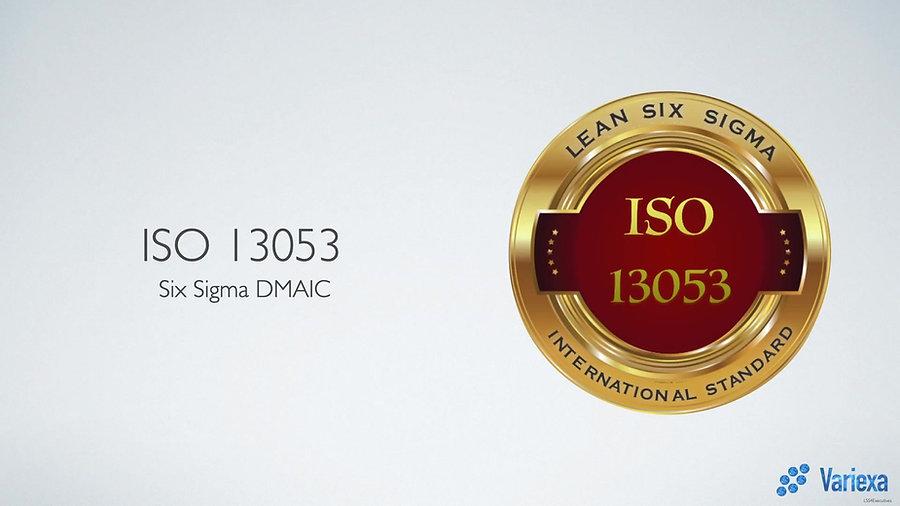 ISO 13053: Seis Sigma (Extracto de entrenamiento Yellow, Green y Black Belt)