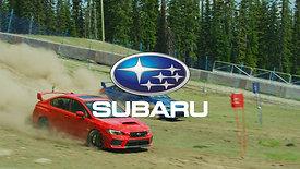 Subaru WRX STI - Dual Slalom