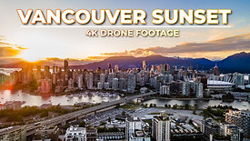 Golden Hour Downtown Vancouver