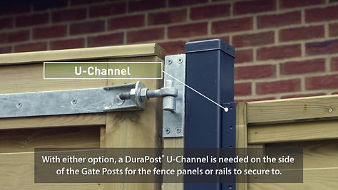Installation Advice - Gatepost Fixing