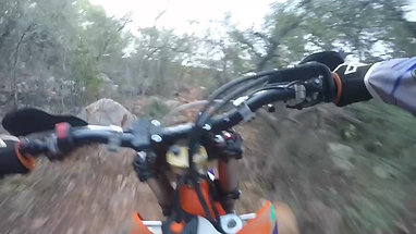 Clearing Tracks, giving the 450's clutch some work. With some cheesy GoPro music!