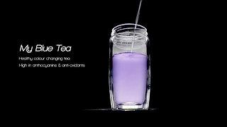 My Blue Tea Video - benefits