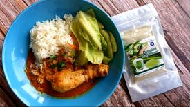 Chicken Curry with Pandan Leaf Powder