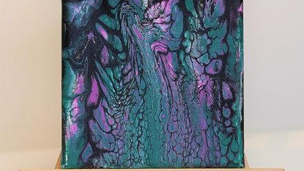 Lace Tutorial - Paint Pour
