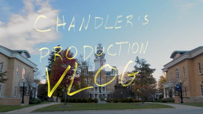 I'm making a short film! -- vlog 1