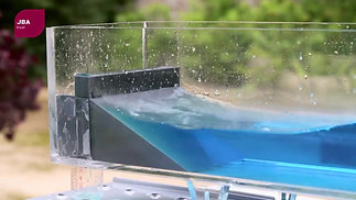 JBA Trust Wave Tank Testing