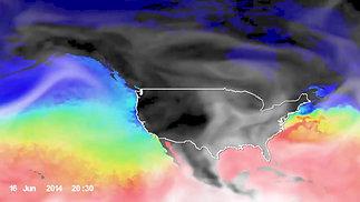 Lesson 3 NASA Water Temp and Water Vapor Visualization