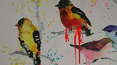 "Spring inspirations (Painting ""Spring birds"")"