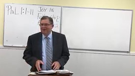Philippians 1:1-11 - Dr Tommy Smith