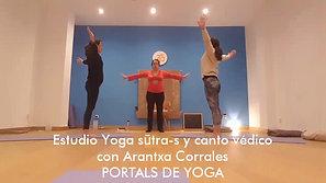 Estudio de los Yoga Sūtra-s y canto védico