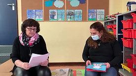 Frau Rechmann und Frau Ekinci erzählen eine Geschichte