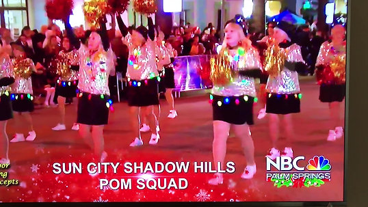 NBC Coverage of the Festival of Lights Parade