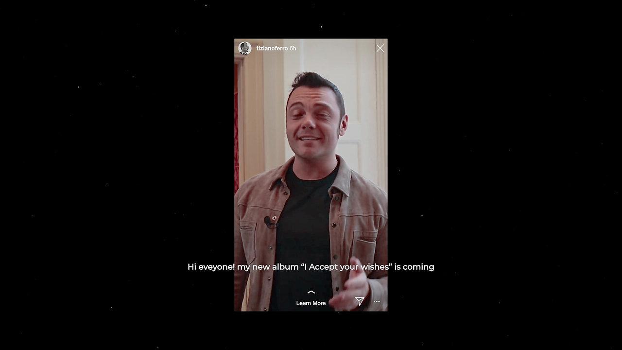 """Spotify & Virgin Music - """"Accetto Miracoli"""" by Tiziano Ferro"""